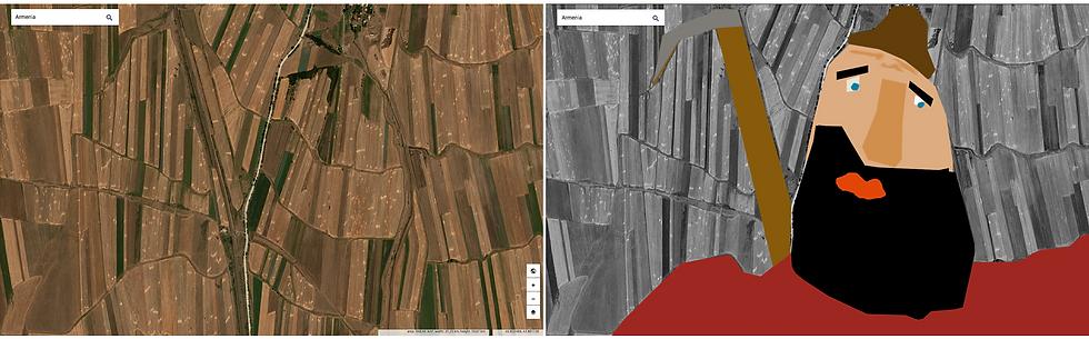 image satellite d'observation de la Terre