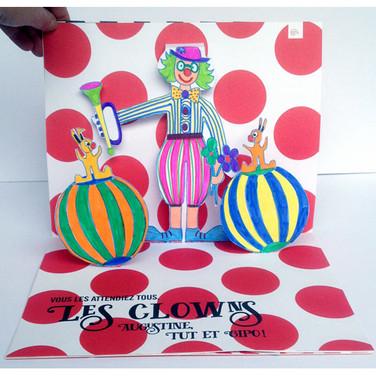 """""""Quel cirque !"""". Les clowns."""