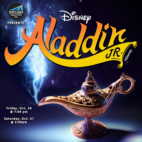 Aladdin Jr. 5-week Fall Musical Theater Camp