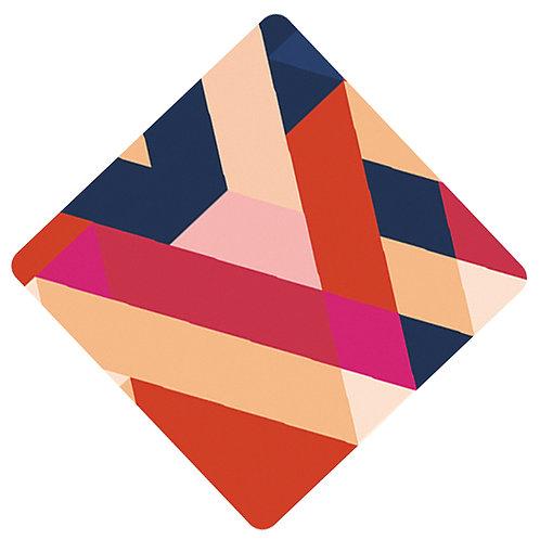 Ecusson carré Janis