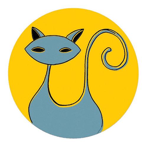 KeepKeys Katze Jaune