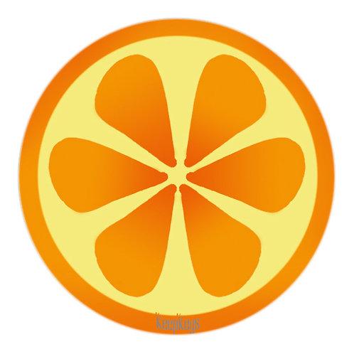 Ecusson Orange