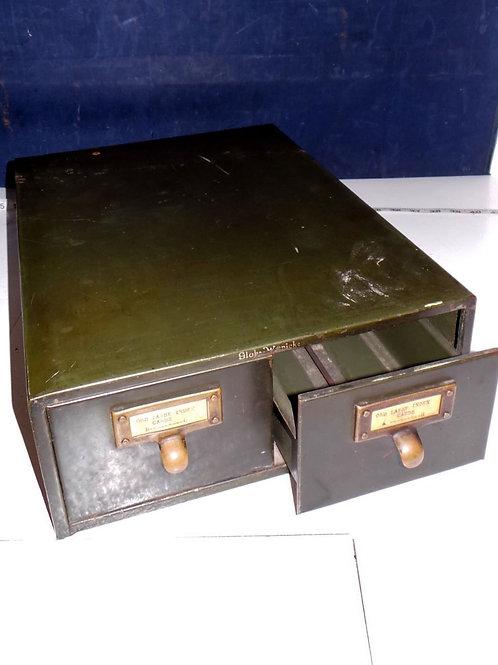 2 Drawer File Cabinet By Globe Wernicke
