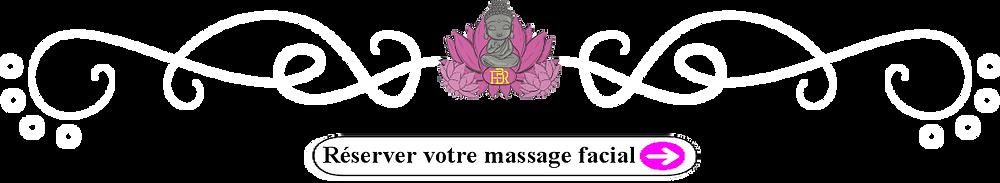 Réserver votre massage facial
