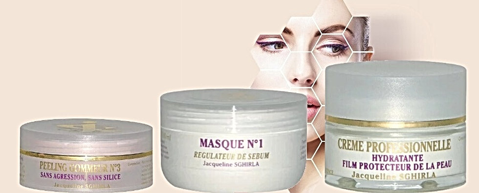 Méthode de soins visage exclusive Côte-B