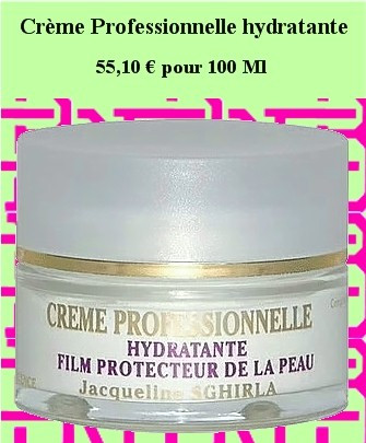 Crème Professionnelle hydratante