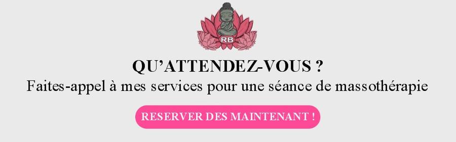 Services de massothérapie Côte Bleue