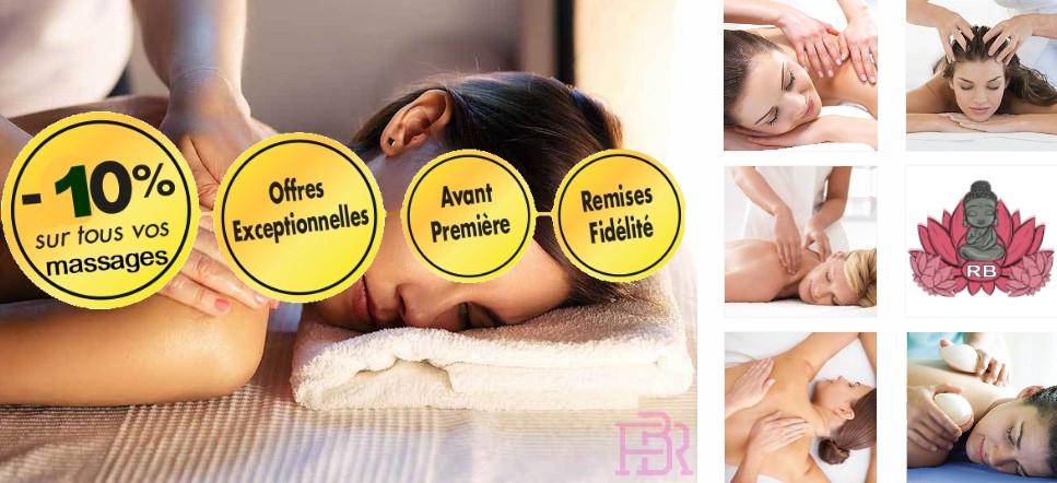 Bénéficier de 10% de remise sur tous les massages à domicile Bouches du Rhône