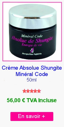 Creme Absolue Shungite Mineral Code