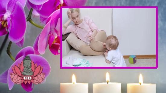 Massage utilisé pour soulager la dépression post-partum