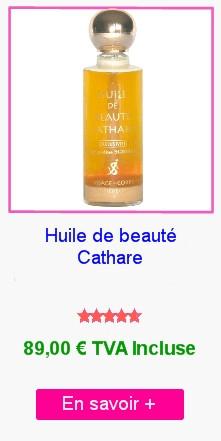 Huile de beauté Cathare