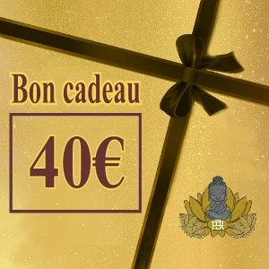 Bon-Cadeau « 40 € »