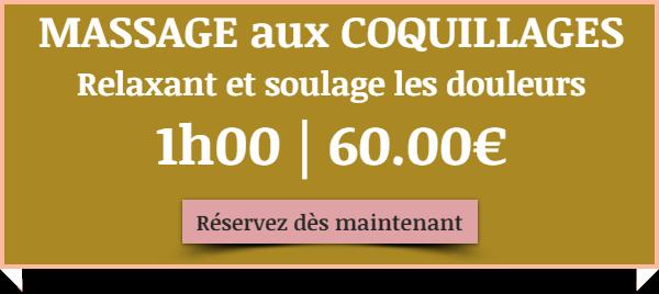 Massage aux coquillages chauds Bouches du Rhône