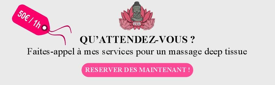 Réserver votre massage deep tissue à domicile Bouches du Rhône