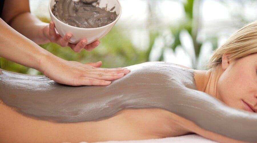 Massage à la boue de la mer morte Côte B