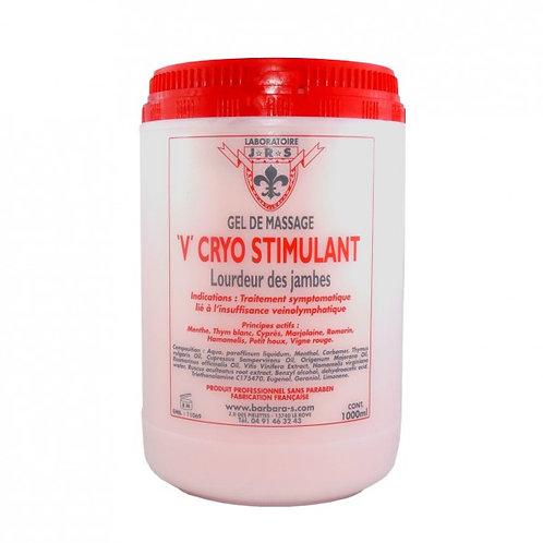Gel V Cryo Stimulant Jambes Lourdes