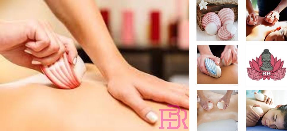 Massage aux coquillages chauds à domicile Bouches du Rhône