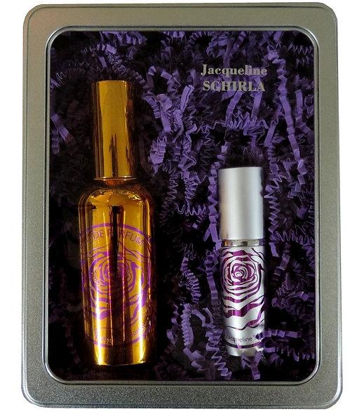 Coffret « Iris de Toscane » eau de parfum  + Extrait de parfum