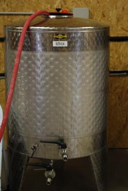 Transvasement cuve de fermentation