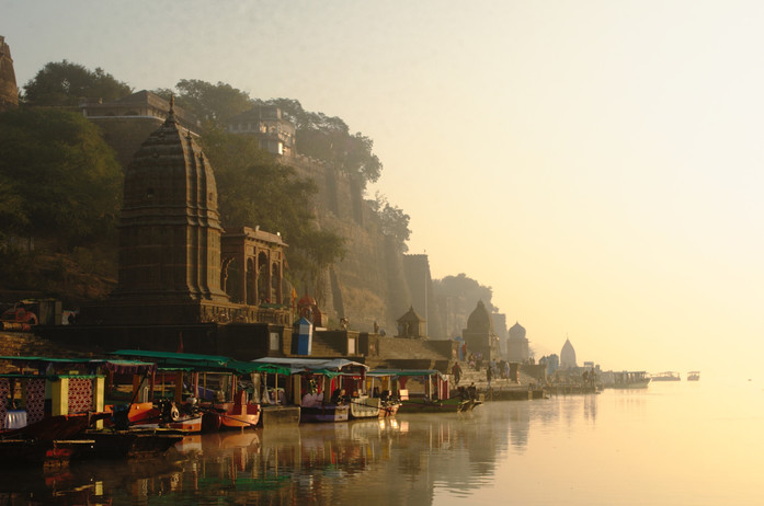 The Ghats of Maheshwar