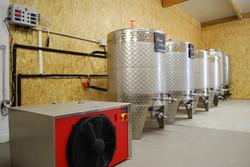 Les fermenteurs réfrigérés