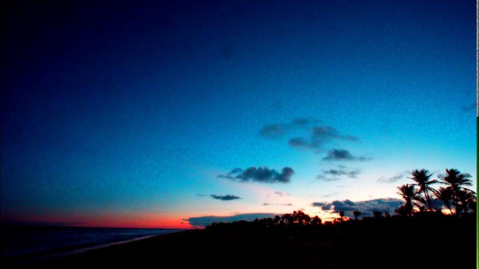 Sunset at Mahabalipuram