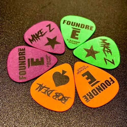 Guitar Picks (Set Of Three)