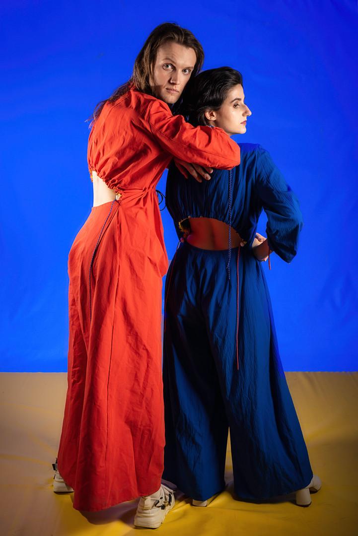 Foto// Michael Brahlich Models// Sophie Mashraki                Alexander Kopciak  Make-Up//Elena Meraru