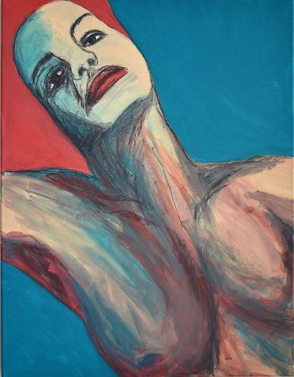 Selbstansichten III, 75 x 58 cm