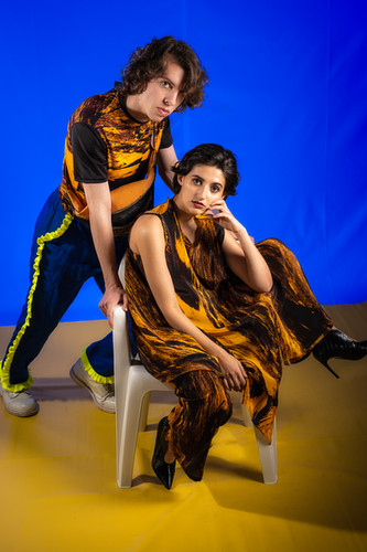 Foto// Michael Brahlich Models// Sophie Mashraki                Konstantin Vlasich Make-Up//Elena Meraru