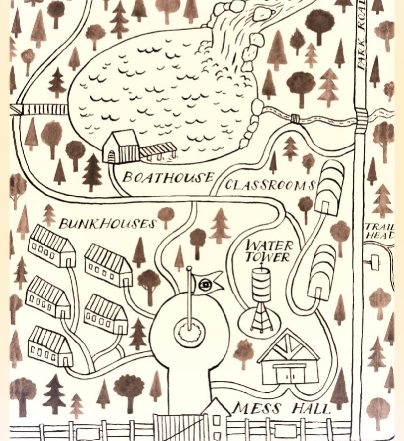 Map of Camp Secret