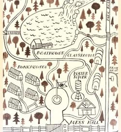 Map of Camp Secret