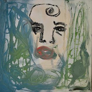 Serie: Die ICH-Fremde, 35 x 35 cm