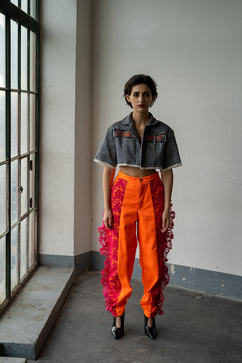 Trousers neon