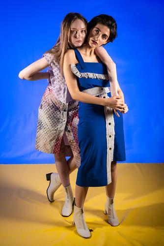 Foto// Michael Brahlich Models// Nicole Lamprecht                Sophie Mashraki  Make-Up//Elena Meraru