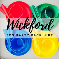 Wickford Eco Party Pack Hire