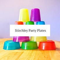 Stirchley Party Plates