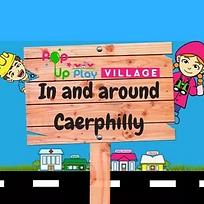 Pop up Play Village Caerphilly