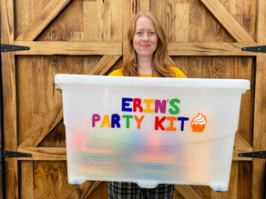 Erin's tips for sharing your party kit with the local community