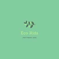 Eco Kids Partyware Hire