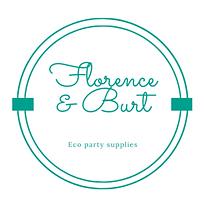 Florence & Burt Eco Party Supplies