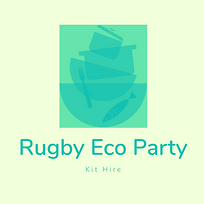 Rugby Eco Party Kit Hire