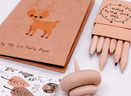 How to find eco-friendly party favours