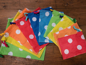 Make Your Own Reusable Fabric Pass-the-Parcel Bags