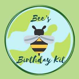 Bee's Birthday Kit
