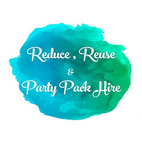 Reduce, Reuse and Party Pack Hire