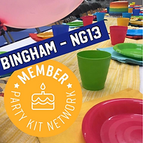 Party Kit Hire Service - Bingham NG13
