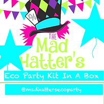Mad Hatter's Eco Party-Kit-In-A-Box