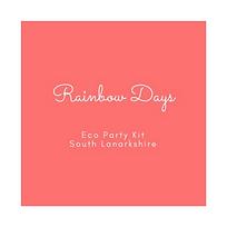 Rainbow Days Eco Party Kit