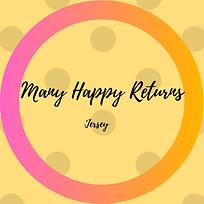 Many Happy Returns Jersey